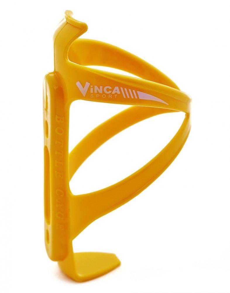 Флягодержатель пластиковый, жёлтый