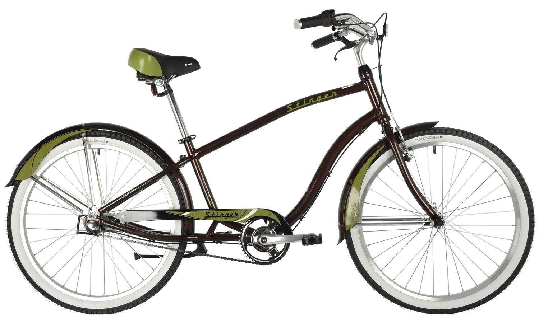 "Велосипед Stinger 26"" CRUISER 3SM алюм."