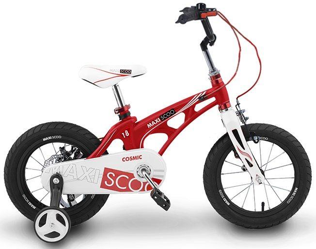 """Детский 2- колесный велосипед Maxiscoo Cosmic Стандарт 18"""" (2020)"""