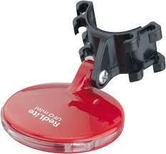 TOPEAK Redlite Ufo Mini габаритный велофонарь на батарейке (red)