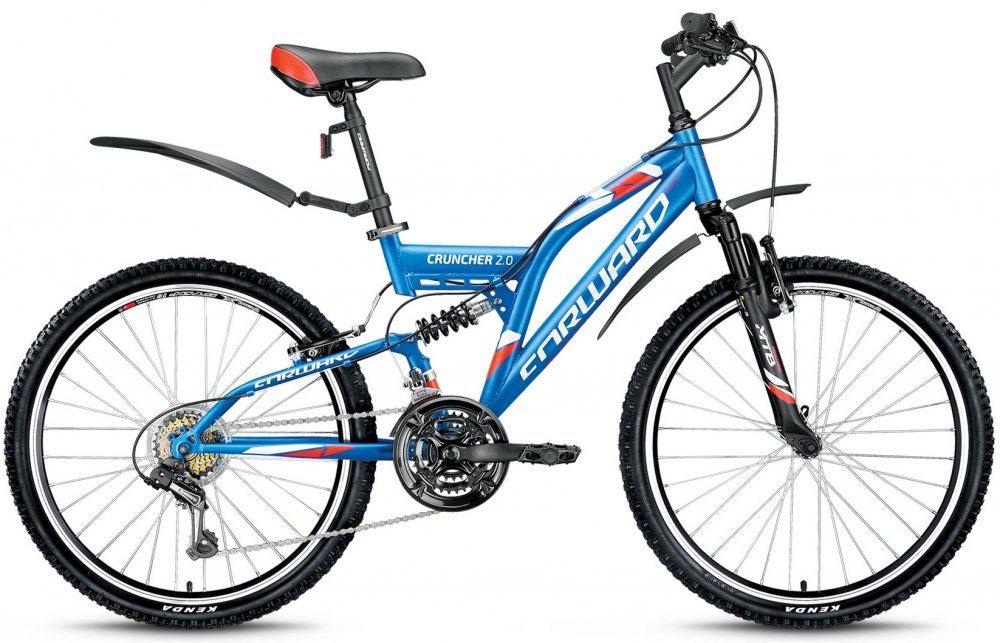 Подростковый велосипед Forward Cruncher 24 2.0 (2017)