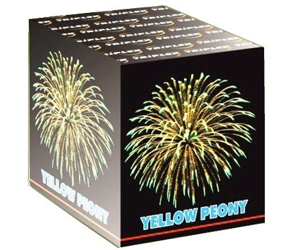 "09 зар. Батарея салютов ""Yellow_Peony"" ТХВ820 (48/1) 0,8"""