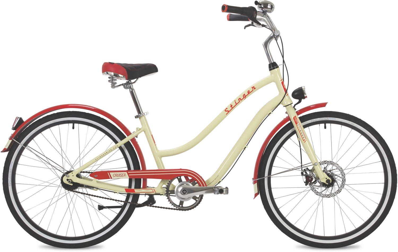 "Велосипед Stinger 26"" CRUISER 7SL алюм."
