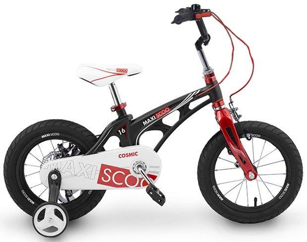 """Детский 2- колесный велосипед Maxiscoo Cosmic Стандарт 16"""" (2020)"""