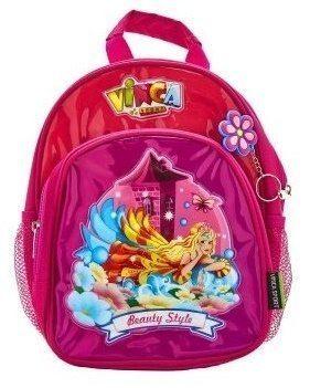 Сумка -рюкзак цвет: розовый, размер: 27*21*6,5см