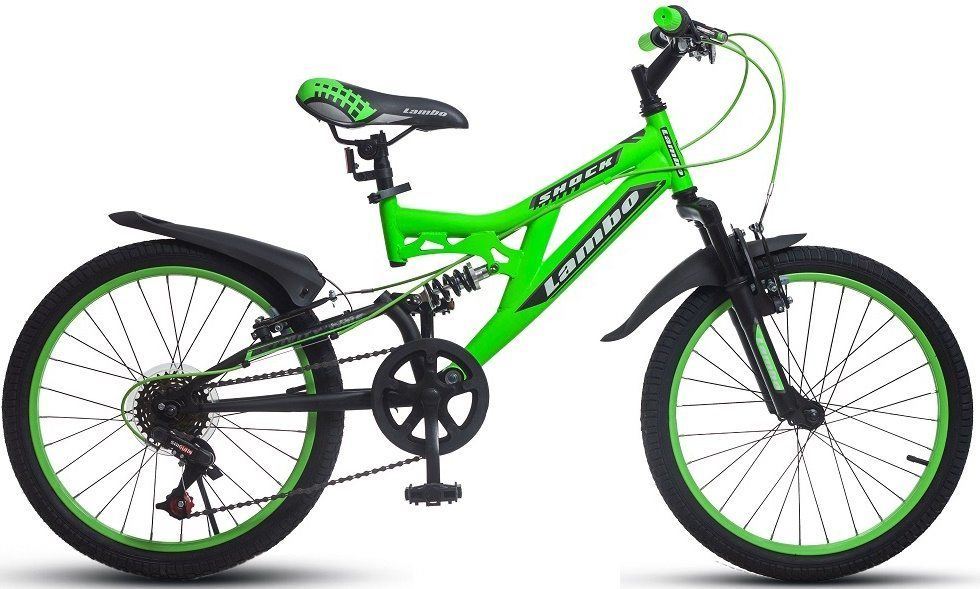 "Детский велосипед 20"" Varma LAMBO SHOCK 6 ск."
