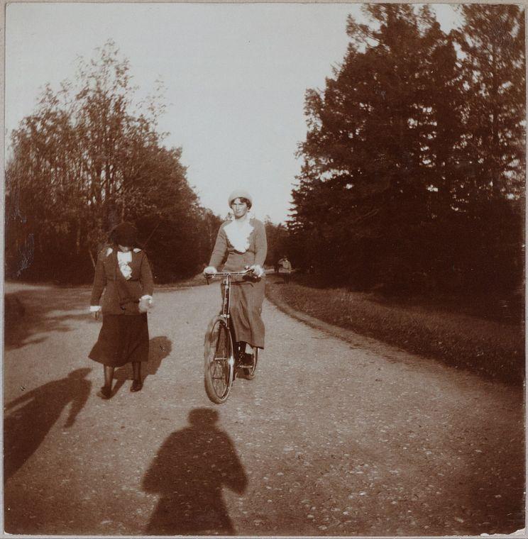В.княжна Татьяна Николаевна и В.княжна Ольга Николаевна (1914-1916)